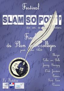 Affiche Slam Intercollèges